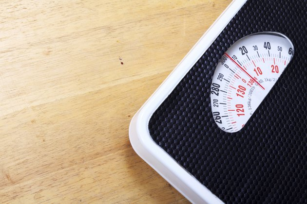 Analog weight scale