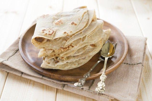 Plain chapatti roti