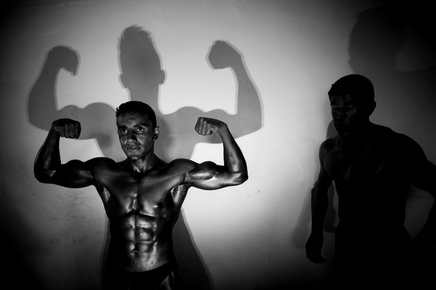 Bodybuilders In Afghanistan