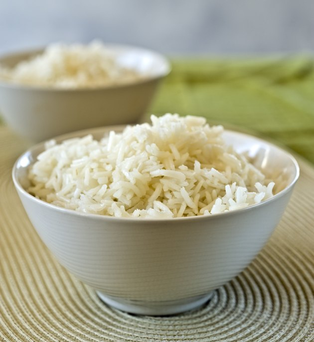 two bowls of rice