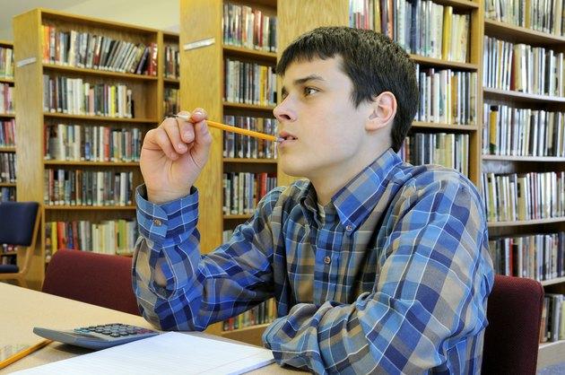 Student Ponders Problem