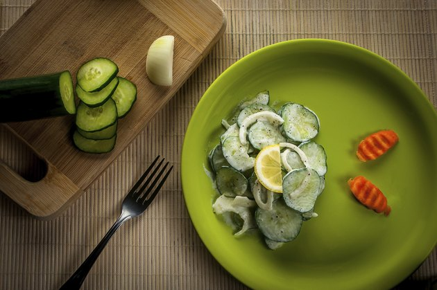 Salad Of Cucumbers