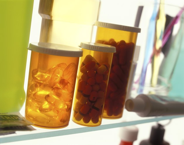 Pills In The Medicine Cabinet