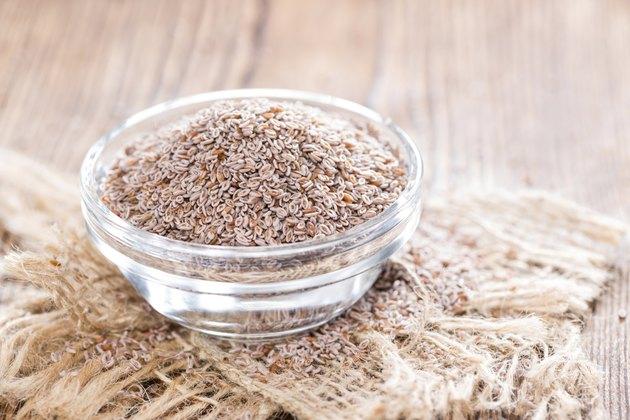 Psyllium Seeds in a bowl