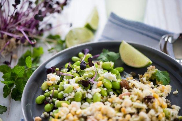 Wholefood vegetarian salad