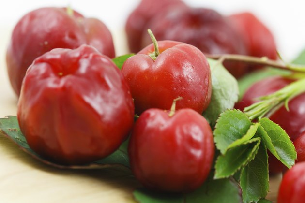 Acerola Cherry Fruit