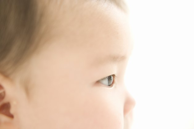 Profile of baby