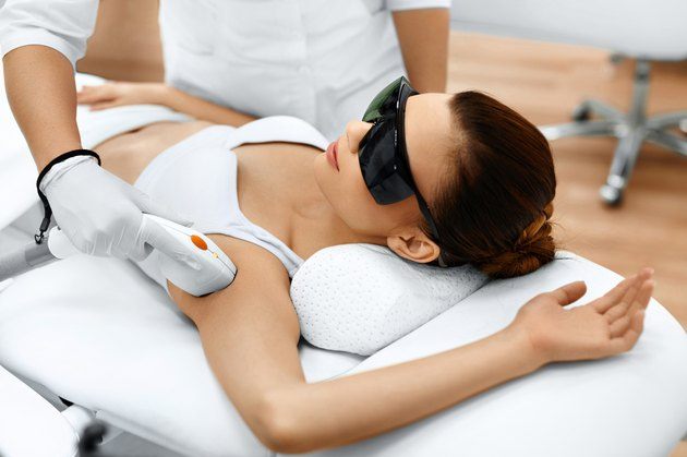 Body Care. Laser Hair Removal. Epilation Treatment. Smooth Skin.