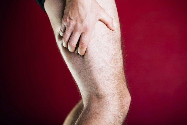 Running physical injury, leg pain