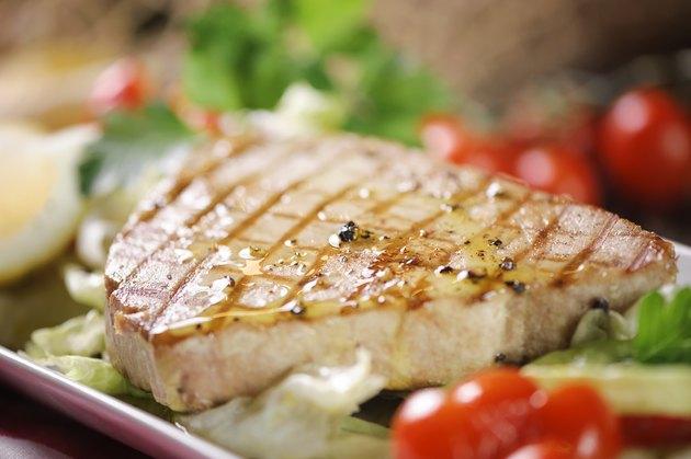 Chargrilled Tuna Steak