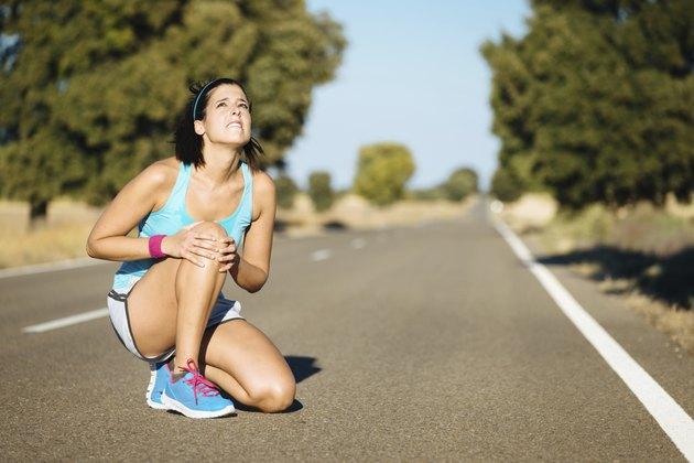Running knee pain