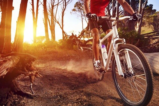 mountain bike athlete