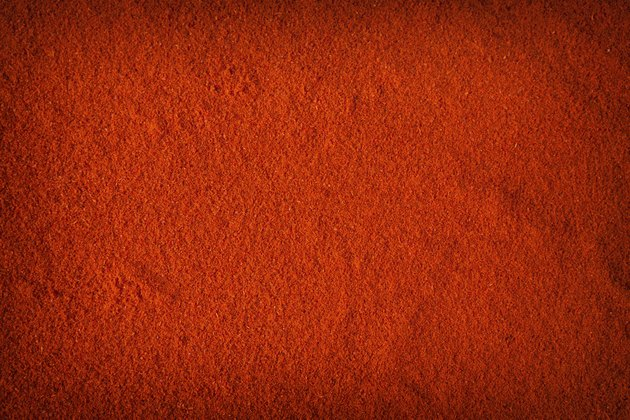 Background of spicy chili powder