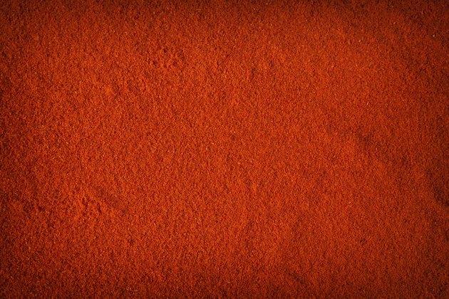 Background of spicy chili powder