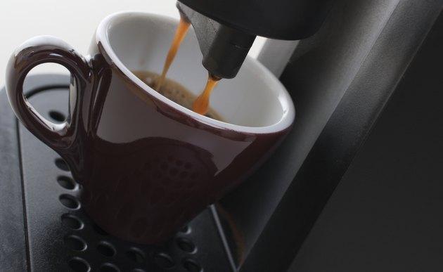 Pouring Espresso