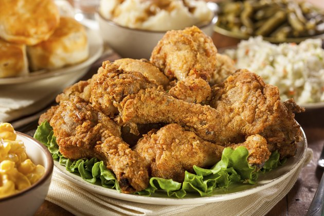 Homemade Southern Fried Chicken