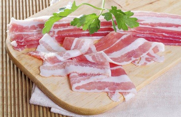 Appetizing bacon