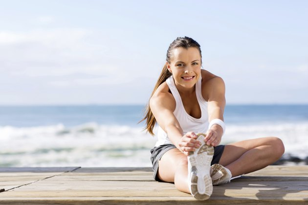 healthy woman fitness exercise