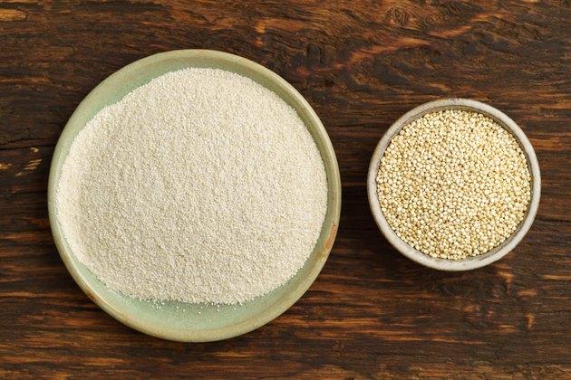 Quinoa and quinoa flour