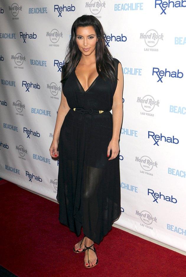 Kim Kardashian Hosts Rehab At The Hard Rock Hotel