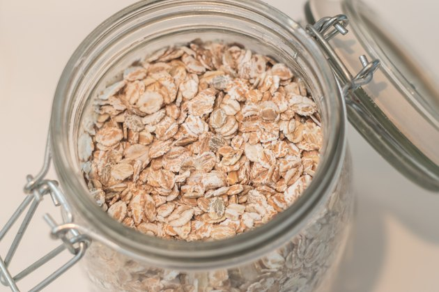 Oat flakes - stock image