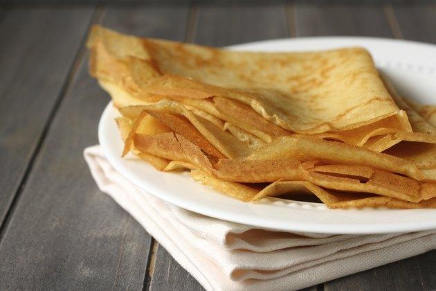Homemade gluten free pancakes