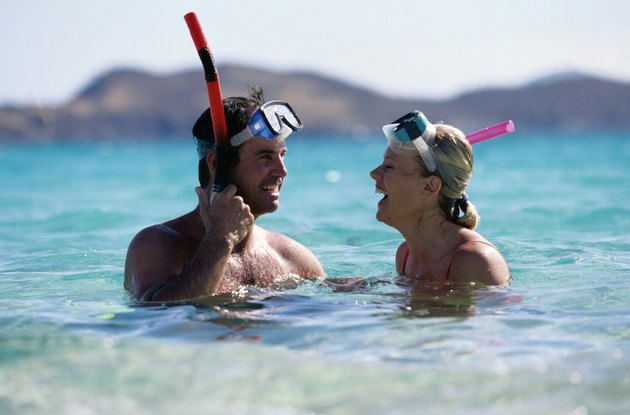 Snorkeling Couple