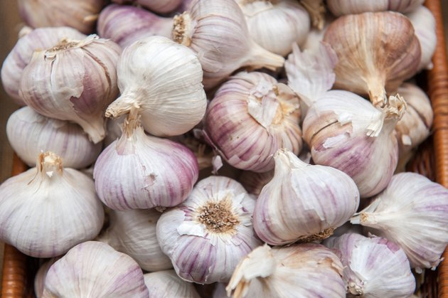 Garlic at market