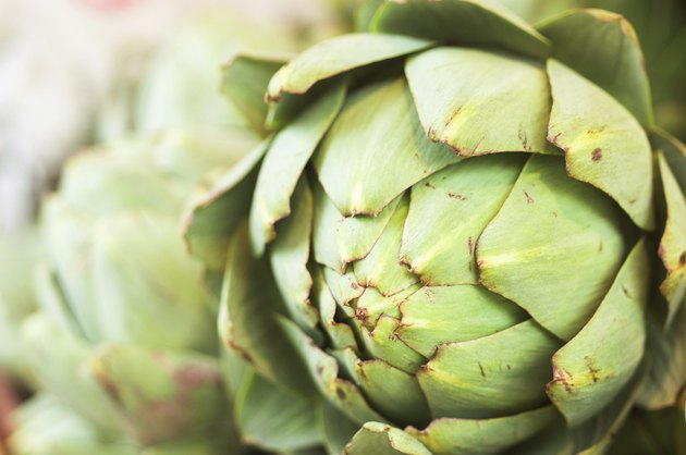 Artichoke close-up