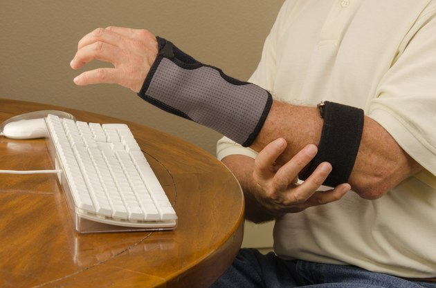 Computer Tendinitis Carpal Tunnel Syndrome Repetitive Stress