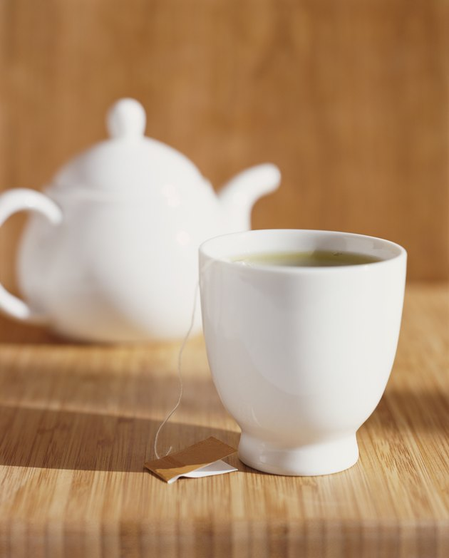 Cup of Tea and a Teapot