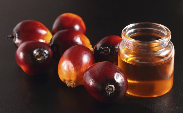 Palm fruit and cooking oil