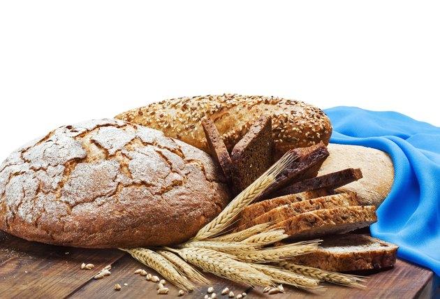 assortment of freshly baked bread