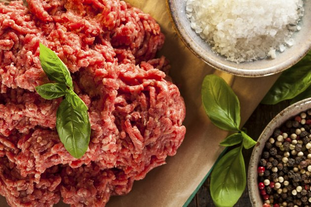 Organic Raw Grass Fed Ground Beef