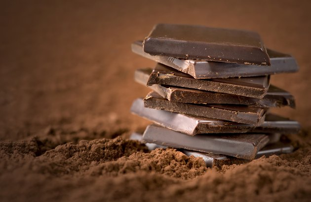 Stacked chocolate bars