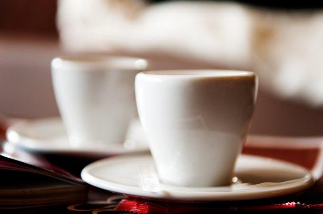 Coffee Cups, Cafe, Porto, Portugal