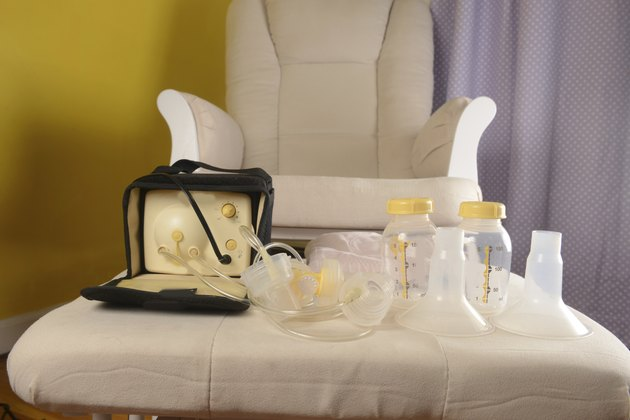 breast milk pumping equipments