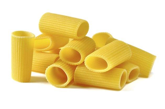 Rigatoni, italian pasta