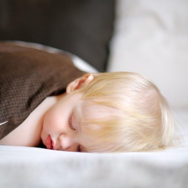 Toddler boy sleeping
