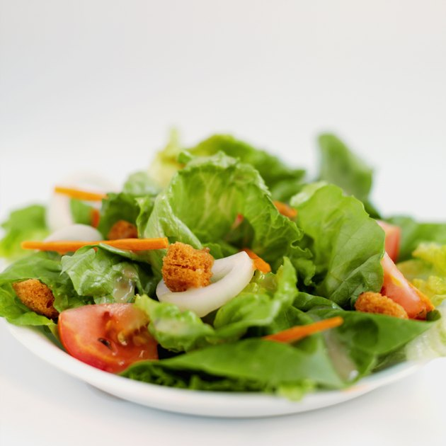 Close-up of salad