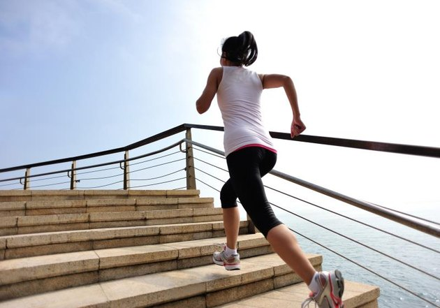 Climbing Stairs for a Flat Stomach