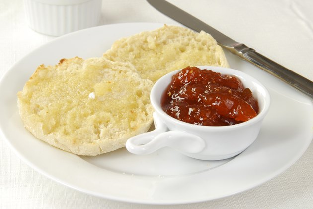 Buttered English Muffin