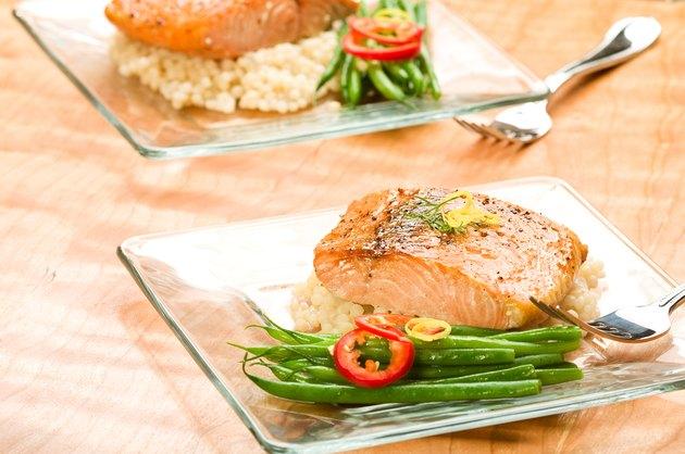 Salmon with Lemon Couscous