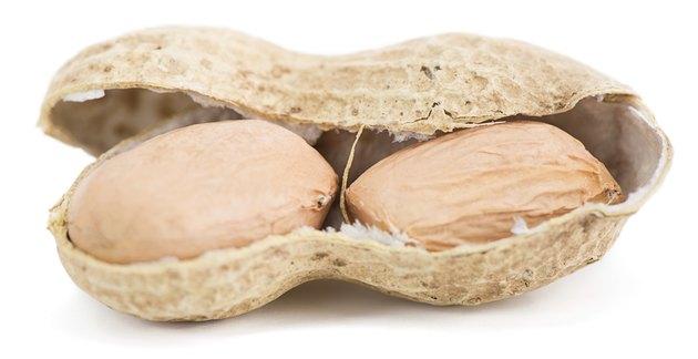 Groundnut close-up