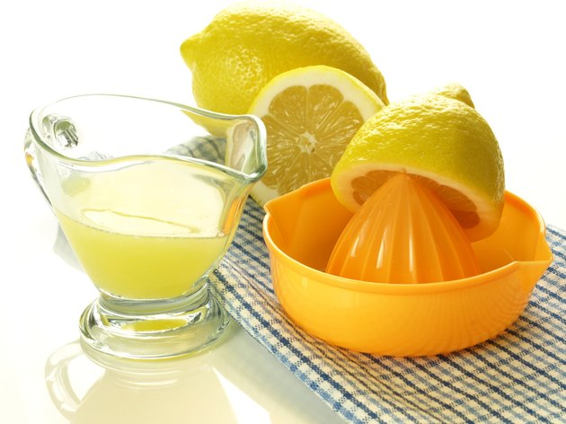 Lemons for juice, isolated