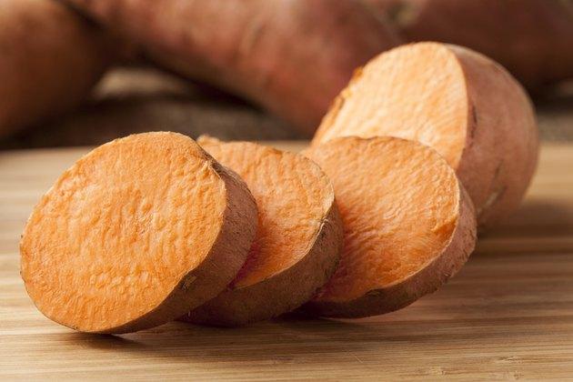 Fresh Organic Orange Sweet Potato