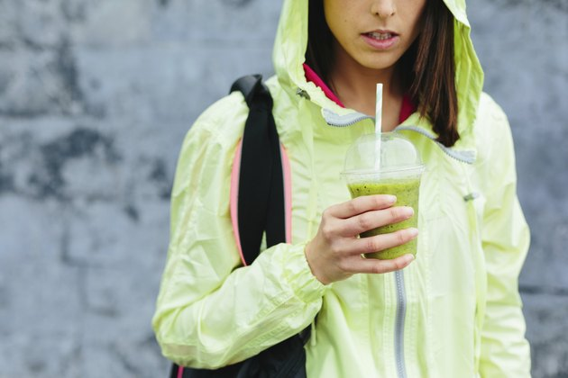 Sport and fitness healthy nutrition drink