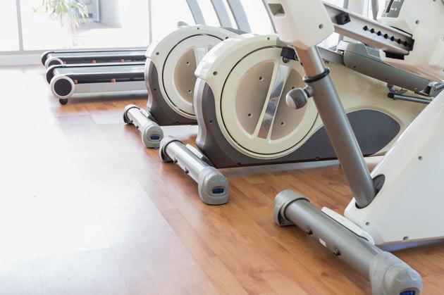 Elliptical in Fitness Room