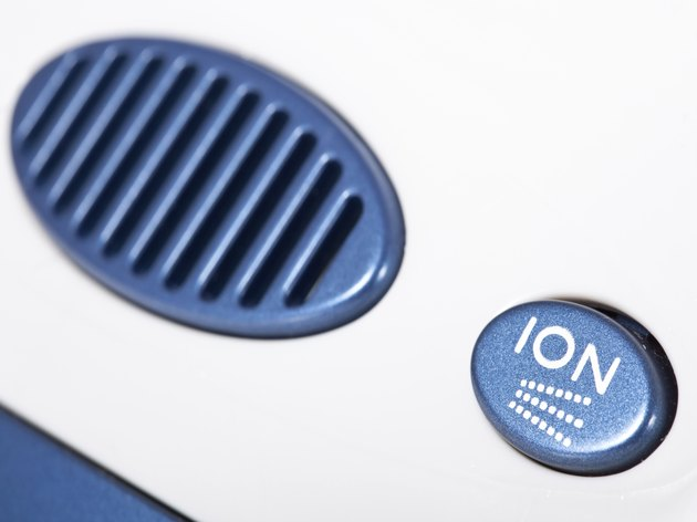Close-up of  the Ionic air purifier