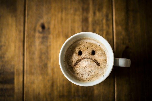 Sad Coffee Cup